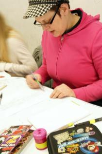 Der Workshop fand unter der Leitung von Dozentin Michaela Eckert statt.