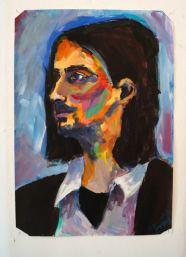 Porträt mit Kalt-warm-Kontrast