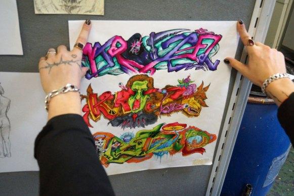 Graffiti als Kunst