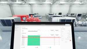 ComoDataCenter dient der Datenverwaltung und -analyse von Spritzgiessvorgängen und ermöglicht die Vernetzung aller ComoNeo und CoMo Injection.   Foto: Kistler