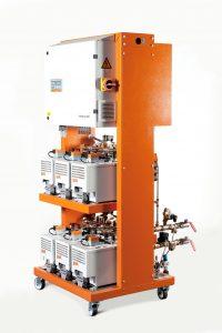 Das modular aufgebaute Mehrkreis-Temperiersystem integrat 80 für die segmentierte Werkzeugtemperierung gewährleistet hohe Freiheitsgrade bei allen Temperieraufgaben.