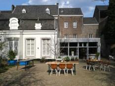 Marres Maastricht, Restaurant + Garten