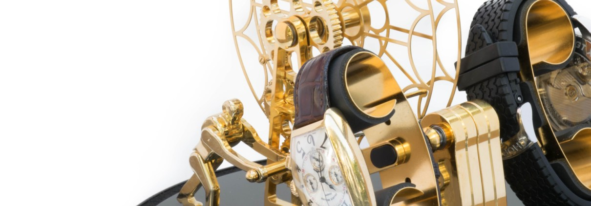 Kunstwinder Ferris Wheel Gold Watch Winder