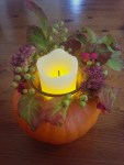 Kürbis-Deko im Herbst