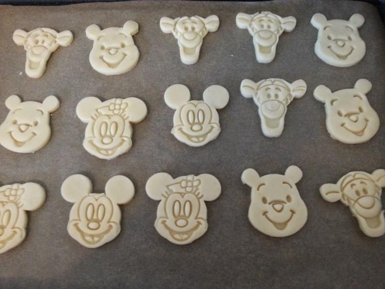 Butterplätzchen Kekse Mürbteig Winnie Pooh Disney