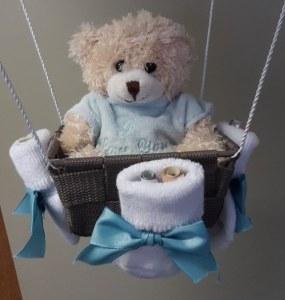 Babygeschenk Ballon-Lampenschirm