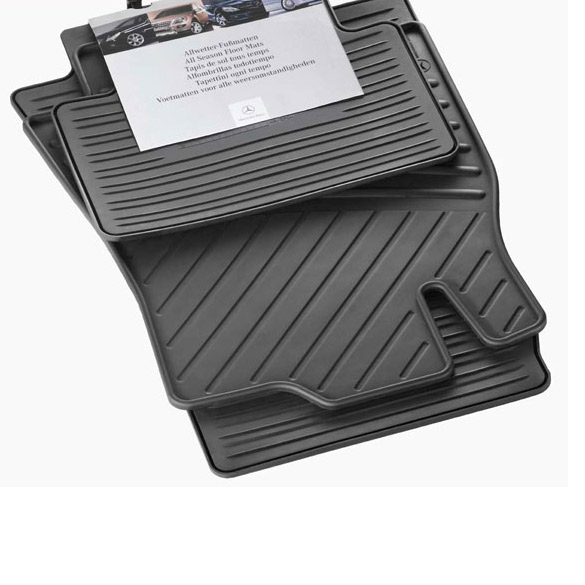 Car rubber floor mats Mercedes EClass W211 genuine