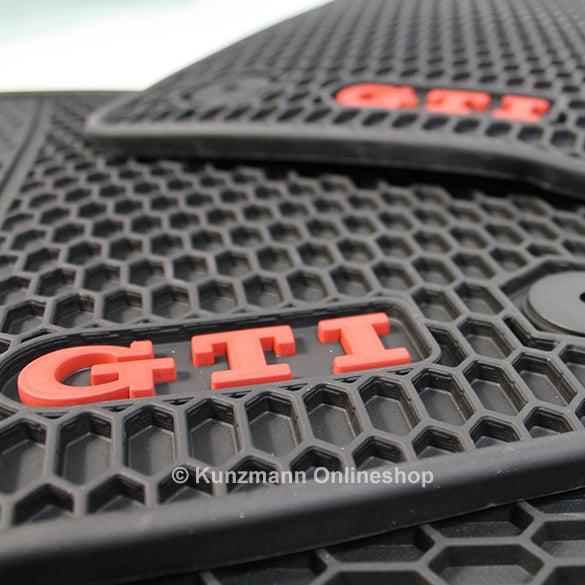 Volkswagen car rubber floor mats  Golf 7 VII GTI