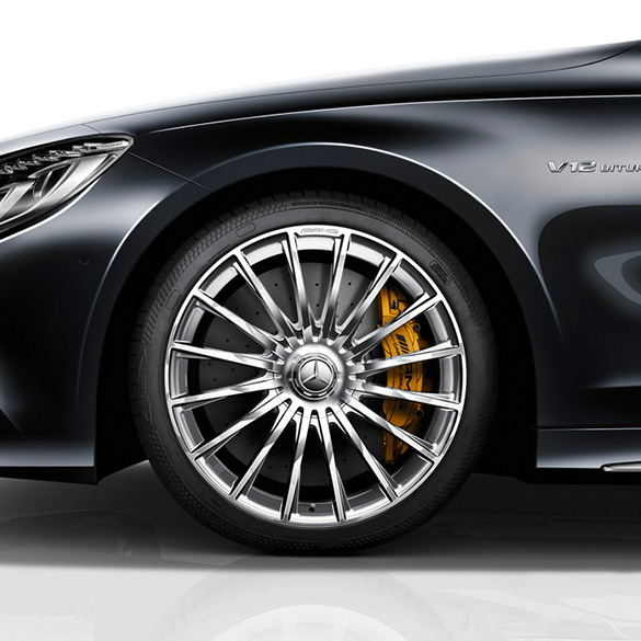 S 65 AMG 20inch forged alloy wheel set multispoke SClass