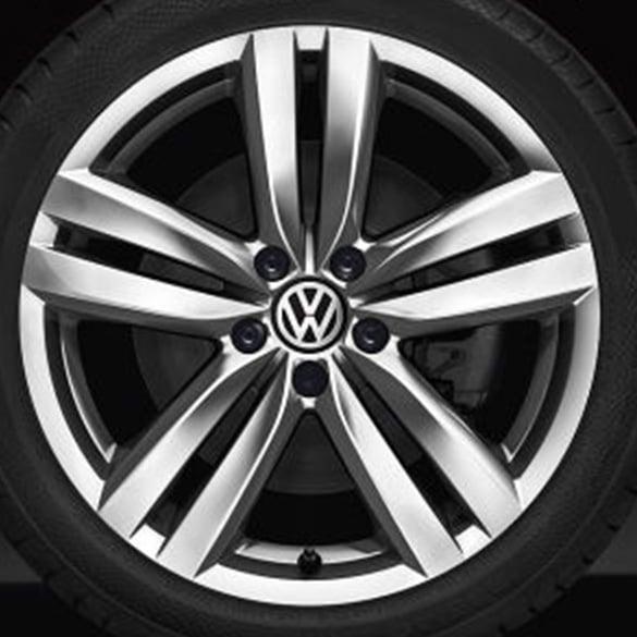 VW Kansas rims  18 inch  Passat 3C  5 twin spokes  Original Volkswagen