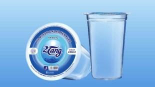 Air minum dalam kemadan produksi PT Tang Mas (stock)