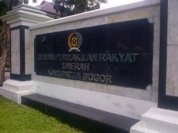 DPRD Kabupaten Bogor di Cibinong, Bogor (stock)