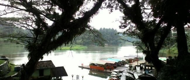 Pesona Danau Lido menyimpan misteri (dok. KM)