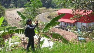 Ali Taufan Vinaya saat meninjau lokasi Proyek milik PT. JDG di Pamijahan, Bogor (dok. KM)