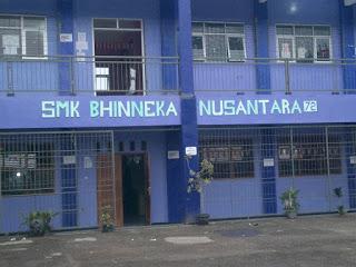 Gedung Sekolah SMK Bhinus Bogor (dok. KM)