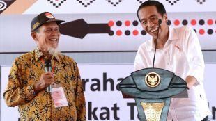 Presiden Joko Widodo di Pematang Siantar, Sumatera Utara, Senin 27/11 (dok. Setpres)
