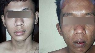 Dua pelaku curanmor yang berhasil diringkus oleh Polsek Pondok Aren, Tangsel, Rabu 6/12 (dok. KM)