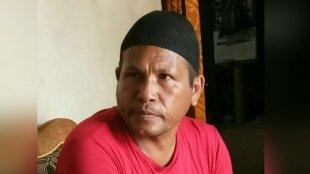 Kades Baskara Bakti, Bangka Tengah, Abidin Soa Mole (dok. KM)