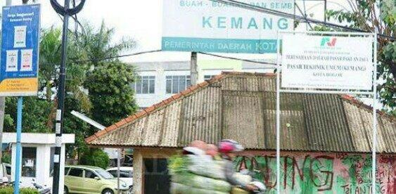 Pasar Induk Kemang alias Pasar TU di bilangan Tanah Sareal, Kota Bogor (dok. KM)