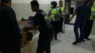 Kapolsek Bogor Barat Kompol Pahyuniati beserta jajarannya usai gelar Operasi Miras di Wilayah Hukum Polsek Bogor Barat (dok. KM)