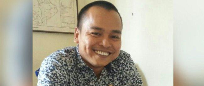 Sekretaris Desa Waringin Jaya, Kecamatan Bojong Gede, Rusdiono