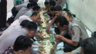 Ngaliwet Bareng Jajaran Polsek Bogor Barat Kota Bogor (13/03/2018)