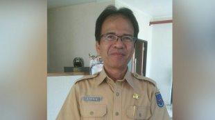 A. Haris, kepala UPT Pemakaman Umum Kota Depok (dok. KM)