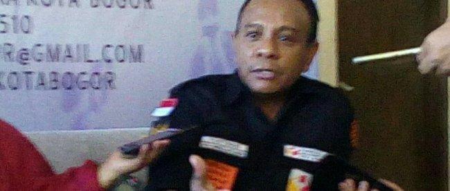 Ketua Panwaslu Kota Bogor, Yustinus Elyas Mau (dok.KM)