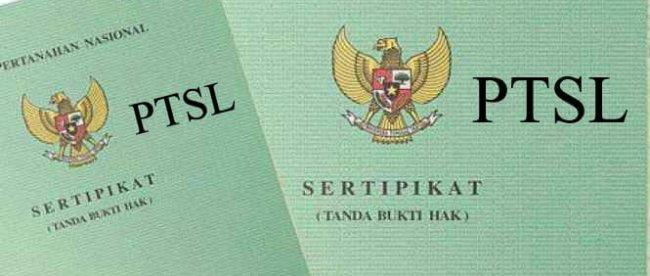 Ilustrasi program PTSL (stock)