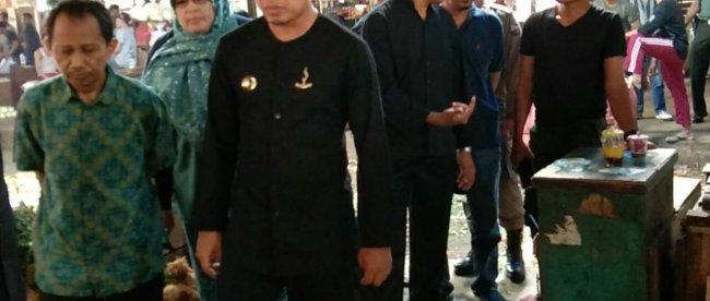 Walikota Bogor Bima Arya Sugiarto saat meninjau Pasar Induk Kemang (Pasar TU) Kota Bogor, Rabu 5/9/2018 (dok. KM)