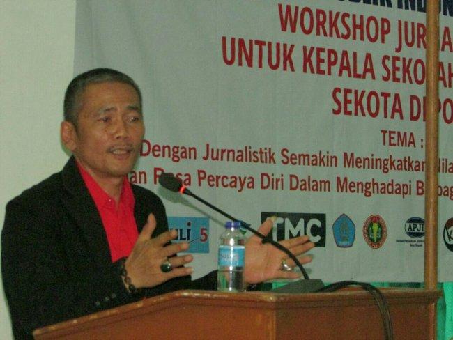 Ketua Umum DPP PWRI, Suriyanto saat memberikan sambutan (dok. KM)