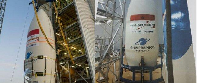 Peluncuran satelit MOHAMMED VI – B milik Kerajaan Maroko Vega Launch Complex (SLV) di Kourou, Guyana Prancis 20/11/2018