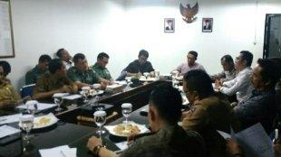 Rapat Unsur Muspida Dan PD PPJ Kota Bogor Terkait Revitalisasi Blok F Pasar Kebon Kembang (dok. KM)