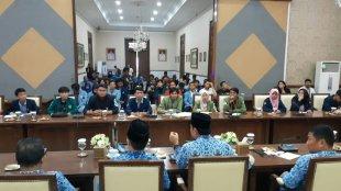 Audensi BEM se Bogor Dengan Pemkot Bogor, Kamis 25/4/2019 (dok. KM)