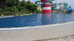 Lokasi tenggelamnya bocah 8 tahun di kolam renang Pasir Padi Bay (dok. KM)