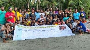 Solidaritas Mahasiswa Peduli Pemimpin Yang Merakyat Se- Jayapura usai kegiatan petisi dukungan penuh kepada LK ketua Parlemen Papua. Sabtu, (22/6/2019) di Jayapura, Papua (dok. KM)