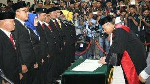 Pelantikan Anggota DPRD Subang 2019-2024, Rabu 3/9/2019 (dok. KM)