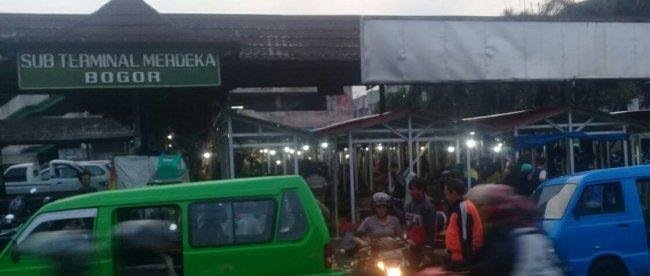 Sub Terminal Merdeka yang menjadi lahan PD PPJ Kota Bogor (dok. KM)