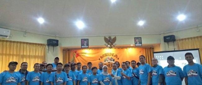 Media Gathering Bawaslu Kota Bogor, Selasa 3/12/2019 (dok. KM)