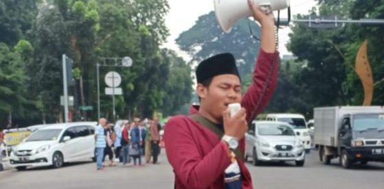 Demisioner Presidium Nasional BEM PTM Zona 3 Jabar, DKI Dan Banten Iksan Awaludin (dok. KM)