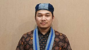 Ketua Cabang Gerakan Mahasiswa Kristen Indonesia (GMKI) Bogor Brian Samosir