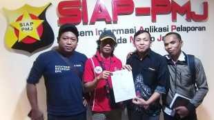 Pihak FWJ Melaporkan oknum pencatut event nya ke Polda Metro Jaya pada 6/2/2020 (dok. KM)