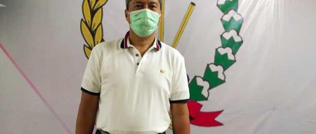 Kepala Dinas Kominfo Kota Depok Sidik Mulyono di Kantor PWRI Depok (dok. KM)