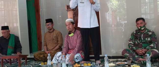 Pengajian Syahariahan di Masjid Jamiatussobirin Desa Neglasari, Kec. Pagaden, Subang (dok. KM)