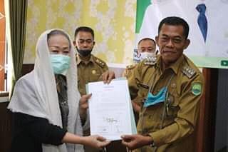 Bupati Subang Ruhimat bersama Sekretaris Daerah Kabupaten Subang, Aminudin (dok. KM)