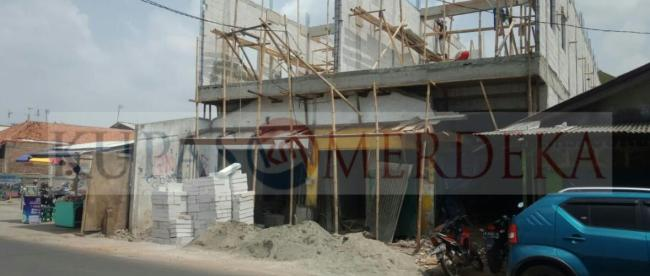 Bangunan ruko dan kontrakan di Jalan Pahlawan, Kelurahan Duren Jaya, Bekasi Timur, Kota Bekasi (dok. KM)