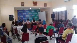 Warga Kelurahan Bondongan, Kecamatan Bogor Selatan, Kota Bogor, di kantor Kelurahan Bondongan, Kamis 3/9/2020 (dok. KM)