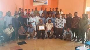Puluhan mahasiswa Tolikara di Jayapura dalam seminar sehari di Asrama Tolikara, Jayapura, Papua, Jumat 30/10/2020 (dok. KM)