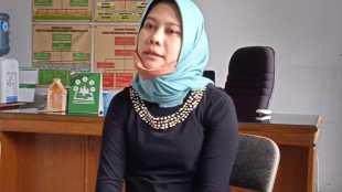 Sekretaris Kecamatan Bojonggede Kabupaten Bogor, Dita Aprilia (dok. KM)