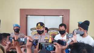 Kapolresta Bogor Kota memberi keterangan kepada wartawan, Minggu 29/11/2020 (dok. KM)